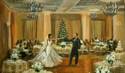 Michigan Wedding Painter