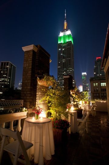 Midtown loft terrace reviews ratings wedding ceremony for Small wedding venue nyc