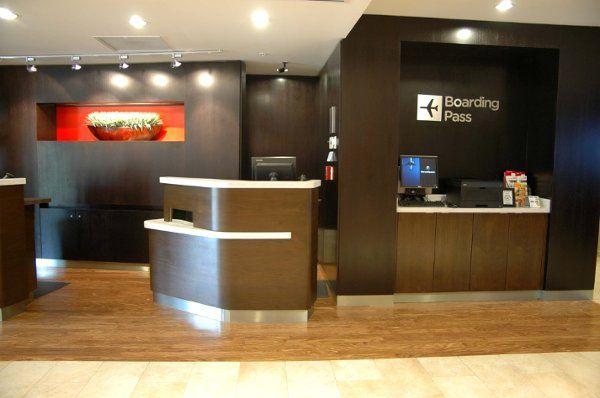 Hotel reception area