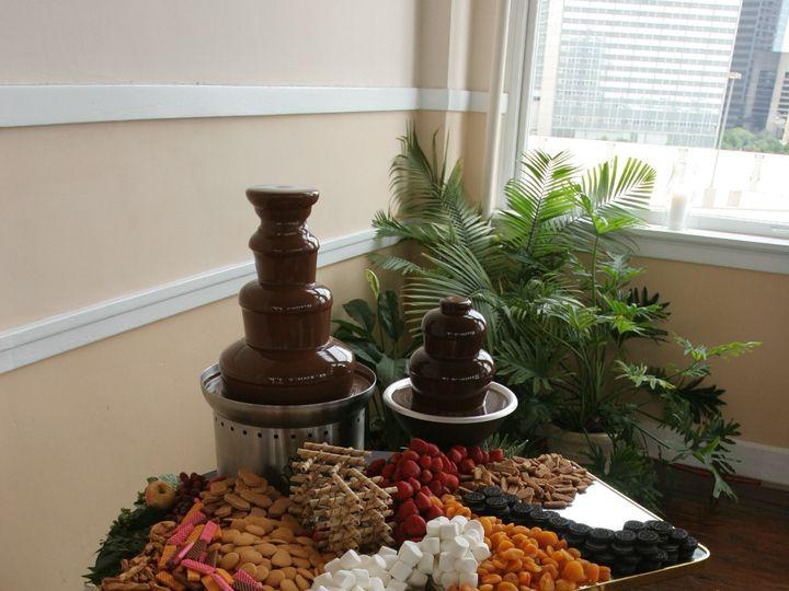 Tmx Chocolate Fountain 51 10740 Dallas, TX wedding catering