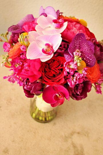 Deep pinks bouquet