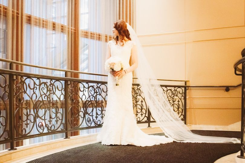 Lovely bride | Image credit JC Williams Photography