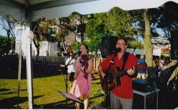 me and scott at milos wedding