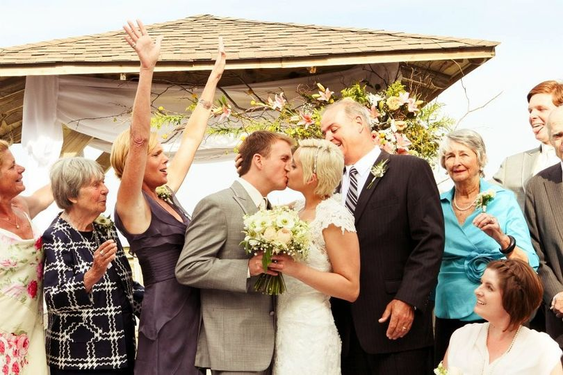 Scott and Christine provided the ceremony music for Meghan & John's Salute to Love wedding at The...