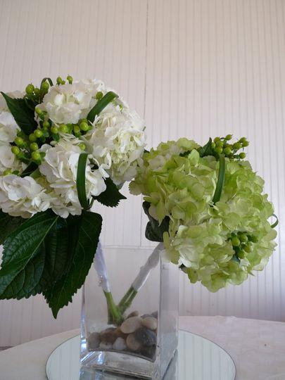greenwhitehydrangeabouquets