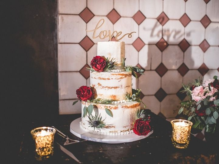 Tmx 1508266333143 Adrienne Resized Cake Hoboken, NJ wedding florist