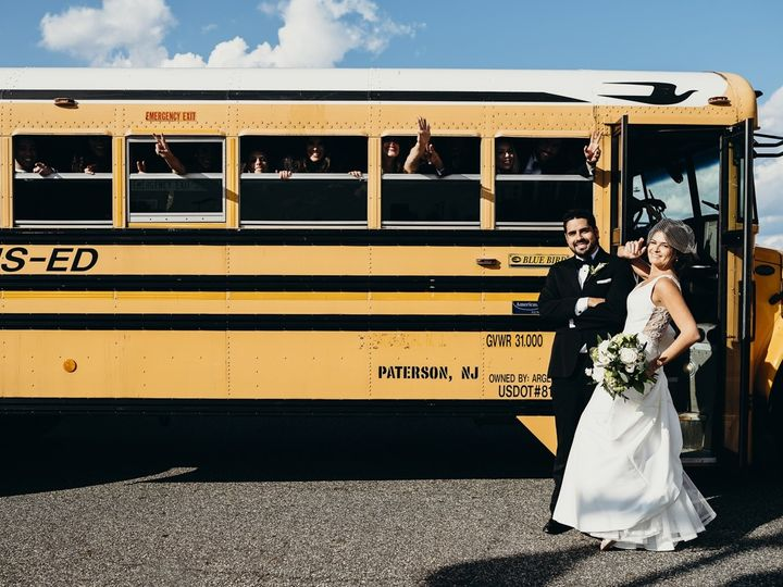 Tmx 1508330405457 Jullie And Bruno Bus Hoboken, NJ wedding florist