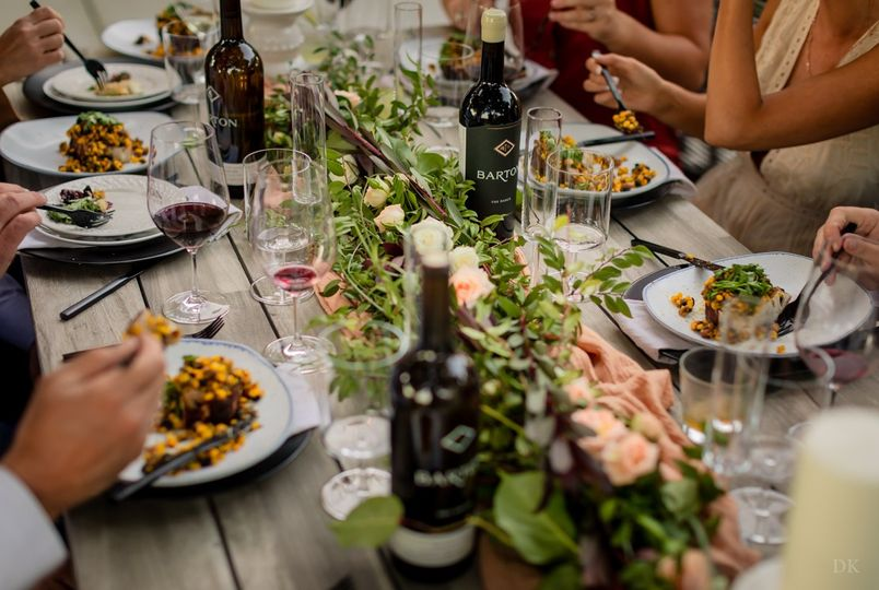 Family Style Tablescape