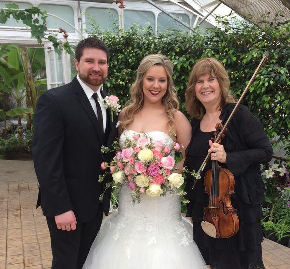 wedding at birdhaven greenhouse