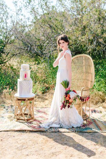 Walking bride
