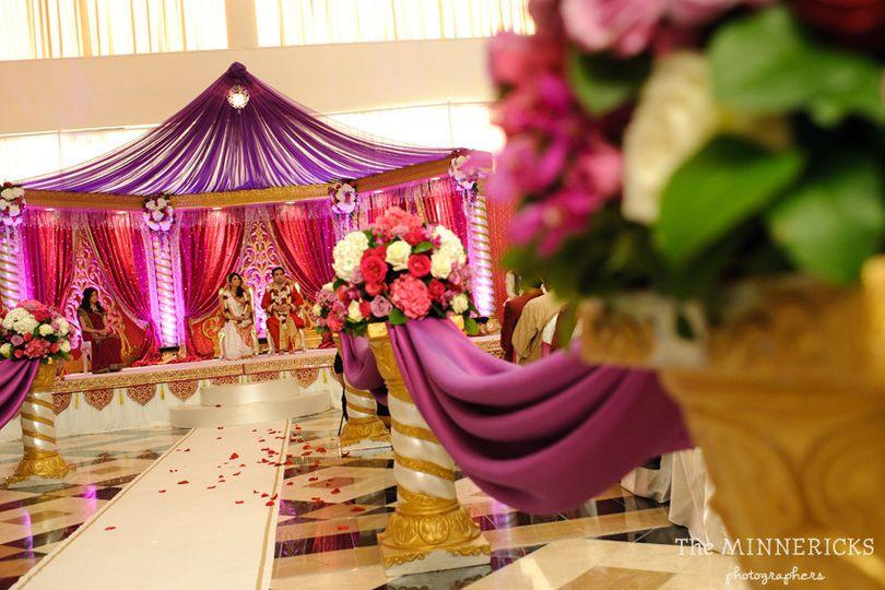 hotel intercontinental dallas hindu wedding photog