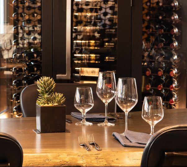 Patagon Restaurant tablescape