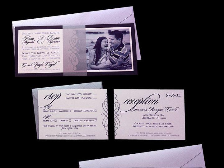 Tmx 1416615285544 Invitation Cleveland, OH wedding invitation