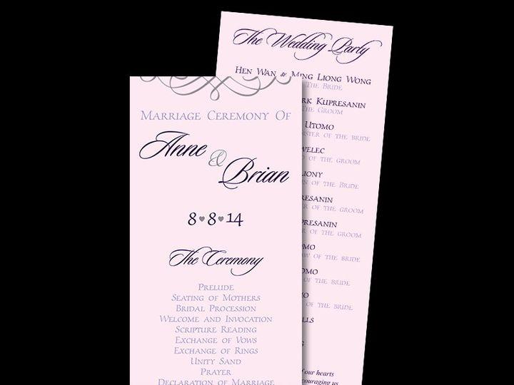 Tmx 1416615296429 Programs Cleveland, OH wedding invitation