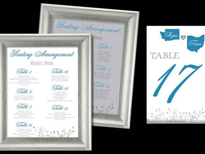Tmx 1465103726856 Myra And Teras Frames Tables Cleveland, OH wedding invitation