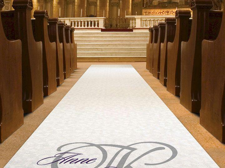 Tmx 1465103828898 Aisle Runner Mock Up Cleveland, OH wedding invitation