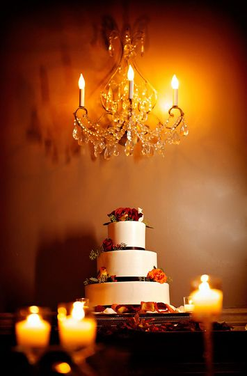 A custom wedding cake is included in all our packages.