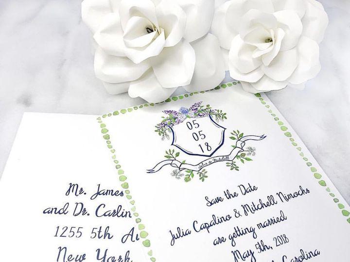 Tmx 1518935407 8e4f9f5005243331 1518935406 7ced1b90cbfcb9e5 1518935400618 5 40F05501 1A55 4BEA Oyster Bay, NY wedding invitation