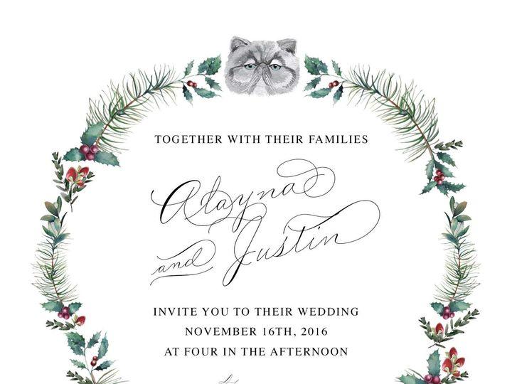 Tmx 1518935408 E4c73667c03037a2 1518935406 5fd5e697d187791b 1518935400627 7 2348C696 09EB 40E0 Oyster Bay, NY wedding invitation