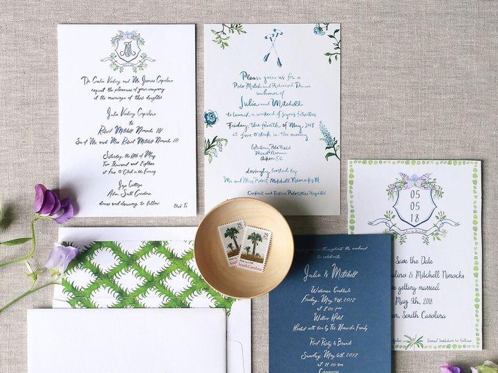 Tmx Julia Mitchell Wedding Stationery 1 0918 51 782840 1568052199 Oyster Bay, NY wedding invitation