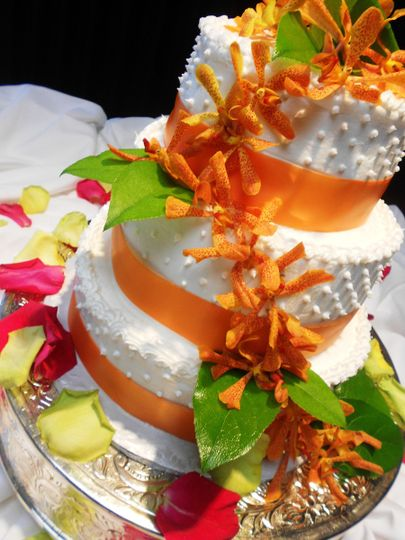 cake with macharia orchids