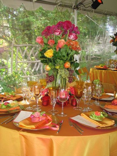 Fall Wedding Tablescape