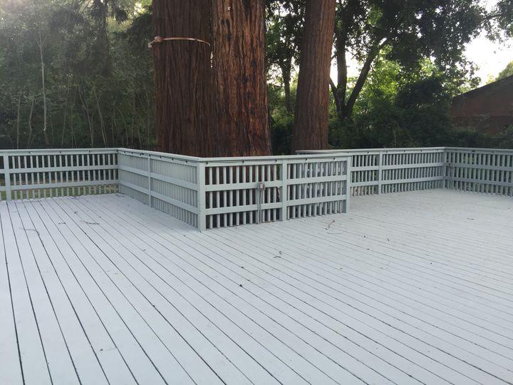 Tmx 1463874043867 Patio With Redwoods Crockett, CA wedding venue