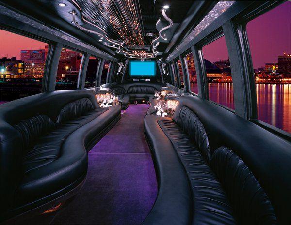 Luxury Limousine Coach Interior