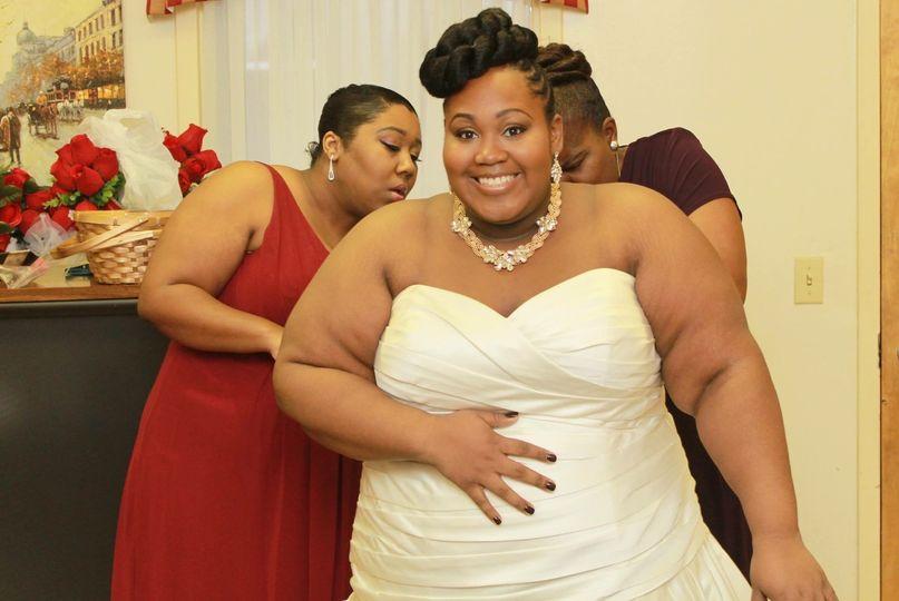 Pretty bride