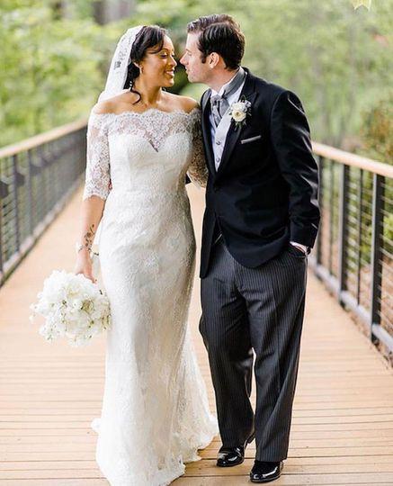 BNride and groom