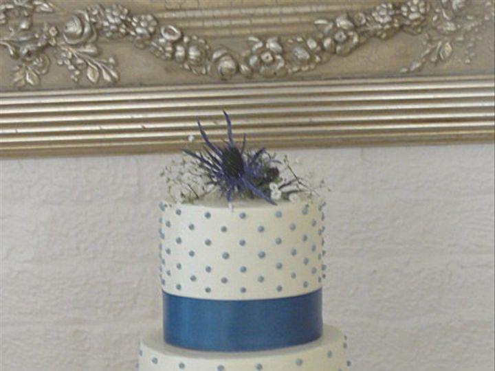 Tmx 1375373613387 Blue Dot Wedding Cake Copy Rockville, MD wedding cake