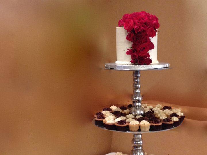 Tmx 1464112328276 Weddingcakecupcakedcmarylandvirginiasavvy Treatsde Rockville, MD wedding cake