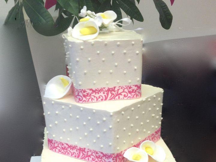 Tmx 1464112369161 Weddingcakecupcakedcmarylandvirginiasavvy Treatsde Rockville, MD wedding cake