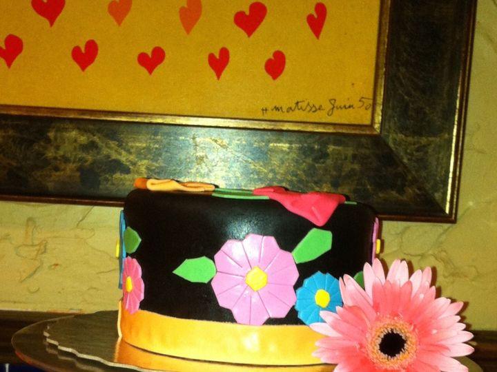 Tmx 1484232681790 Birthdaycakecupcakedcmarylandvirginiasavvy Treatsd Rockville, MD wedding cake