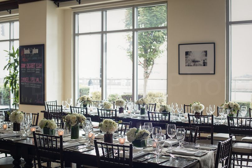 For formal events or a casual elegance, Hook & Plow offers floor to ceiling windows with views of...