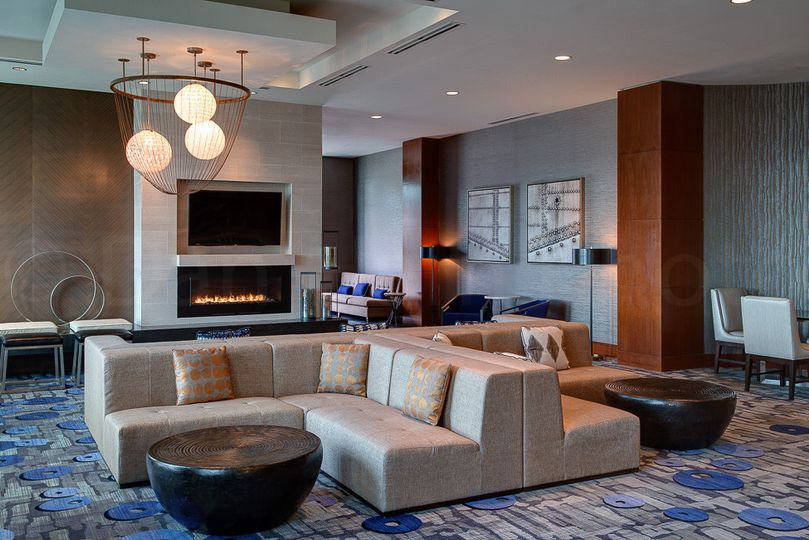 The living room, also completely renovated, offers guests a space to gather and socialize.