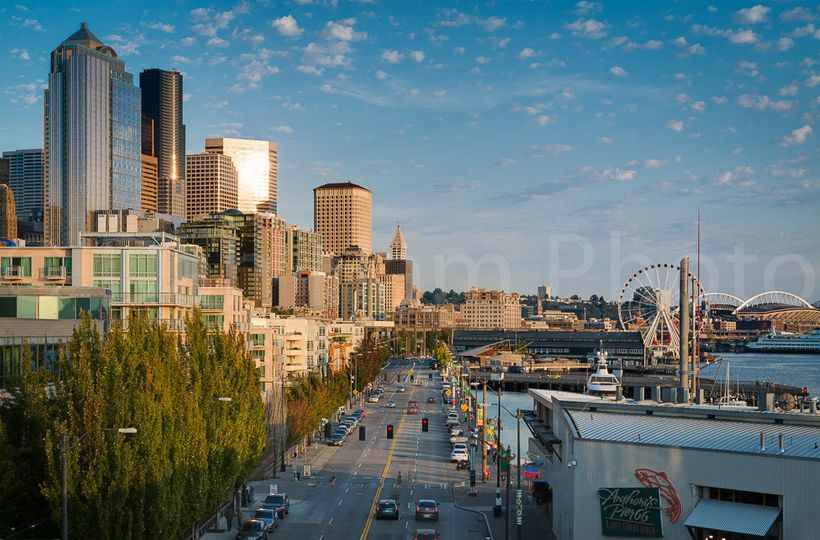 Walk to Seattle's top attractions from our waterfront location.