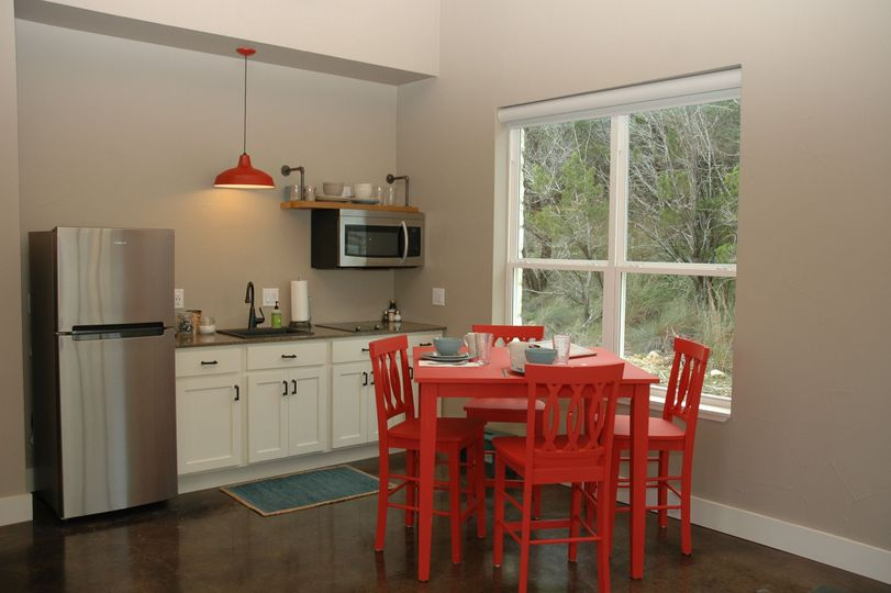 All Casitas have indoor and outdoor dining and kitchettes.