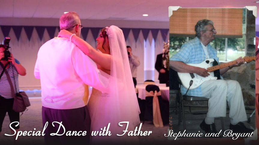 special dance with father