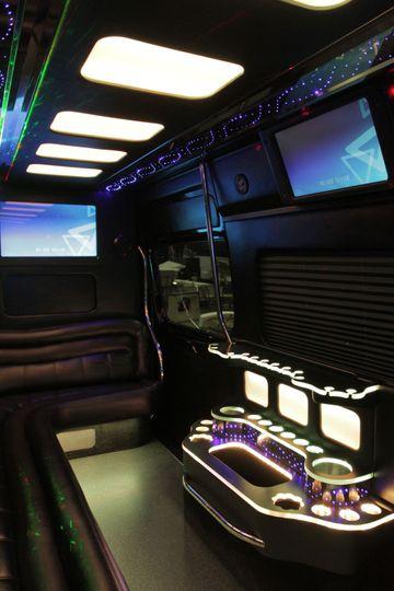 12 passenger Sprinter Van Limousine