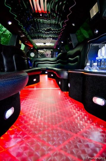 18 passenger Cadillac Escalade Limousine