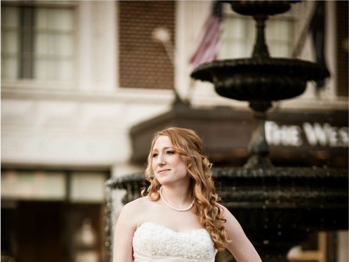 Tmx 1420382591850 Bride By Fountain   Callie Weddings  Hailey  Barre Abbeville, South Carolina wedding florist