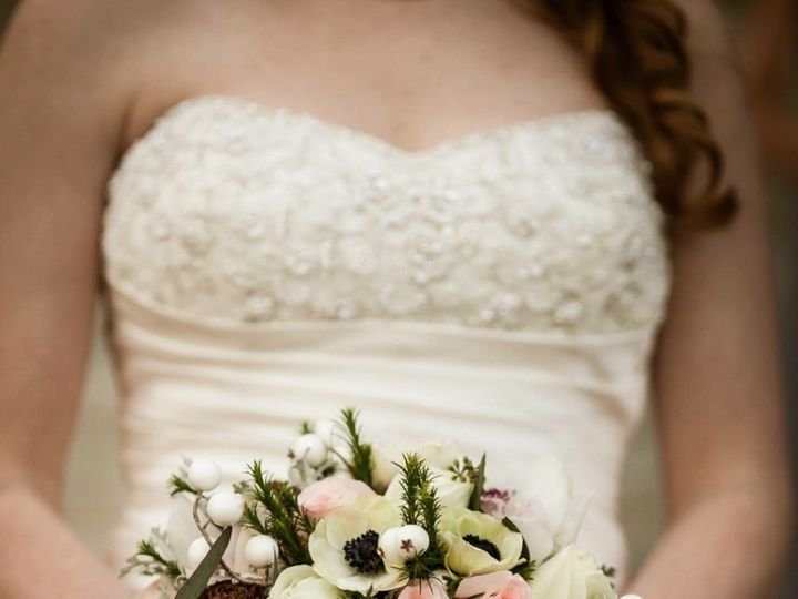 Tmx 1420382755328 Winter Brides Bouquet  Callie Weddings  Hailey  Ba Abbeville, South Carolina wedding florist