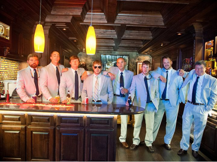 Tmx 1420737675923 Grooms Party At The Crawl Space Abbeville, South Carolina wedding florist