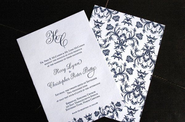 Tmx 1297292104952 IMG8438 Brooklyn wedding invitation