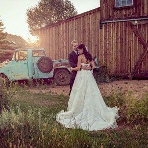 Rustic Barn wedding in Colorado Springs