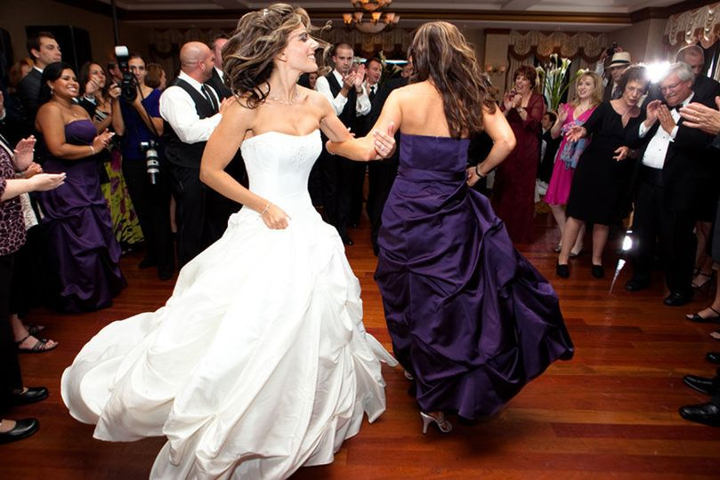 Bride and her bridesmaid