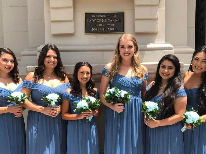 Tmx Zairas Bridesmaids Line Up 51 999840 1562780638 Sacramento, CA wedding florist