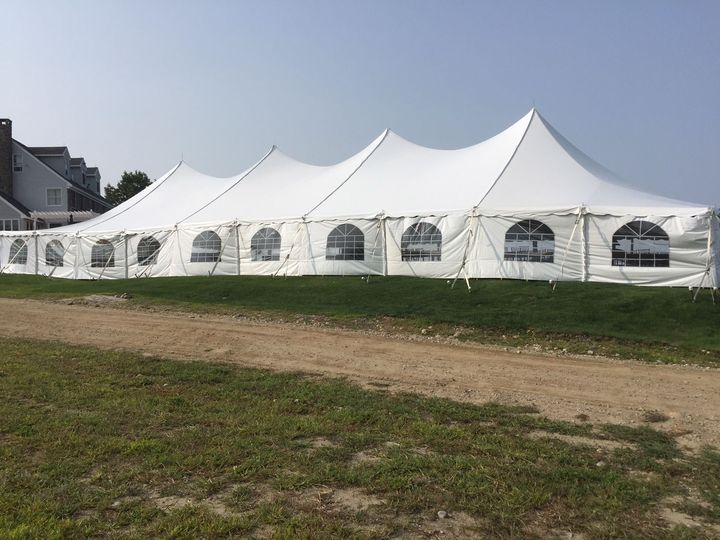 Tent for guests