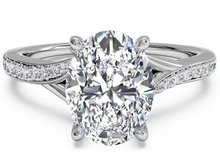 Tmx 1446153080410 Ritani Oval Bypass Fort Lauderdale, FL wedding jewelry